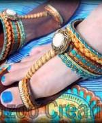 Fashion Of Kolhapuri Shoes 2014 For Women 009