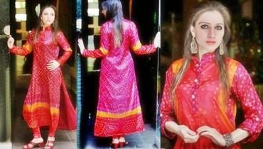Fashion Of Pakistani Chunri Dresses 2014 For Women 002