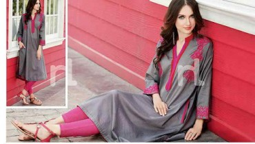 Fashion Of Pret Wear Dresses 2014 For Women