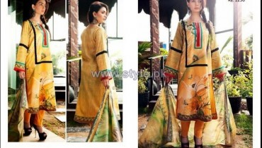 House Of Ittehad Cotton Dresses 2014 For Women 13