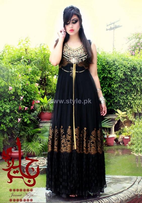 Jannat Nazir Eid Dresses 2014 For Girls 5