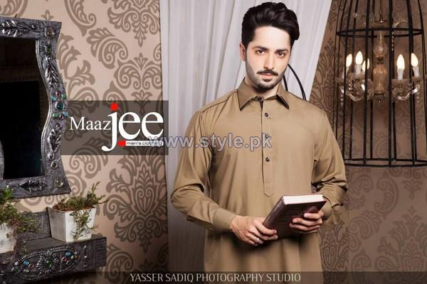 Maazjee Kurta Shalwar Designs 2014 For Men 8