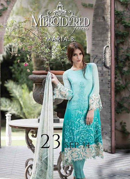 Maria.B Embroidered Wear Collection 2014 For Women 0010