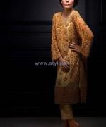 Mina Hasan Formal Wear Dresses 2014 For Girls 4