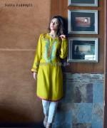 Nadia Farooqi Eid-ul-Azha Dresses 2014 For Girls 4