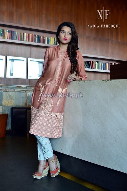 Nadia Farooqi Eid-ul-Azha Dresses 2014 For Girls 5