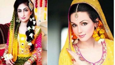New Bridal Hairstyles 2014 For Mehndi Function 0015