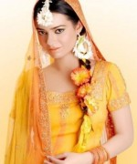 New Bridal Hairstyles 2014 For Mehndi Function 0018