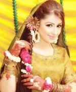 New Bridal Hairstyles 2014 For Mehndi Function