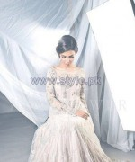 Nida Azwer Wedding Wear Dresses 2014 For Girls 1
