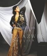 Nida Azwer Wedding Wear Dresses 2014 For Girls 3