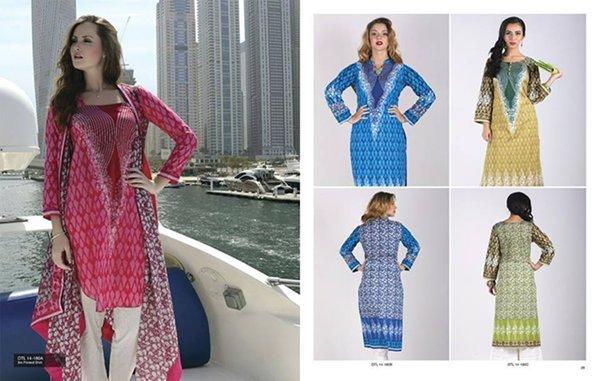 Orient Textiles Midsummer Collection 2014 For Women 0011