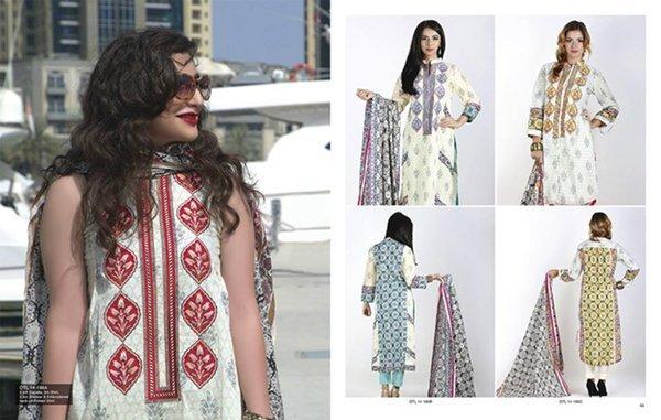 Orient Textiles Midsummer Collection 2014 For Women 009