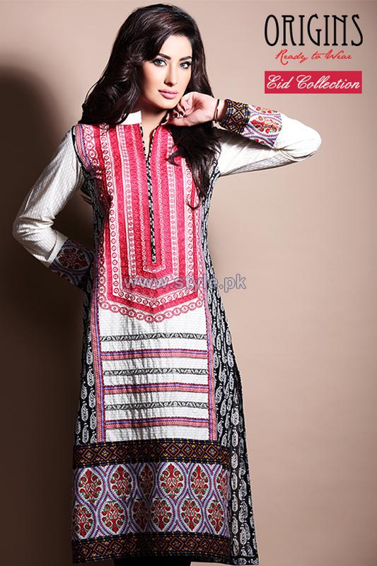 Origins Eid-Ul-Azha Dresses 2014 For Girls 5