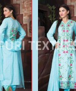 Puri Textile Mid Summer Dresses 2014 For Women 002
