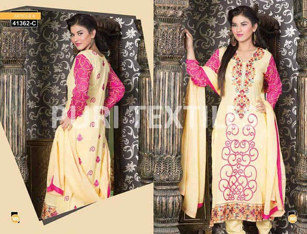 Puri Textile Mid Summer Dresses 2014 For Women 005