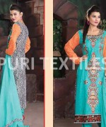 Puri Textile Mid Summer Dresses 2014 For Women 007