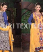 Puri Textile Mid Summer Dresses 2014 For Women 009