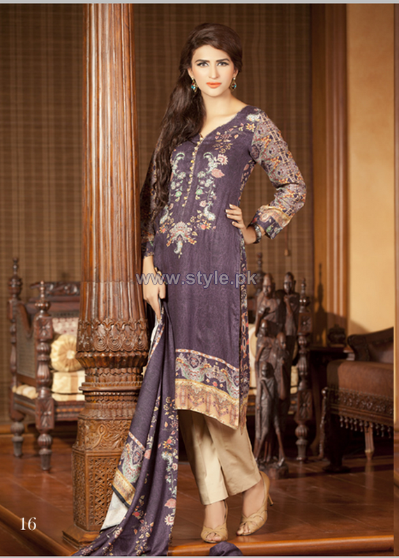Rashid Textiles Persian Cupro Suiting 2014 For Mid Summer 4
