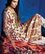 Sana Safinaz Silk Eid Ul Azha Collection 2014 For Women 004