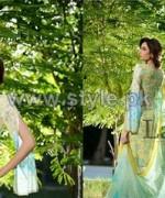 Sana Samia's Mid Summer Dresses 2014 For Women 14