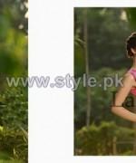 Sana Samia's Mid Summer Dresses 2014 For Women 8