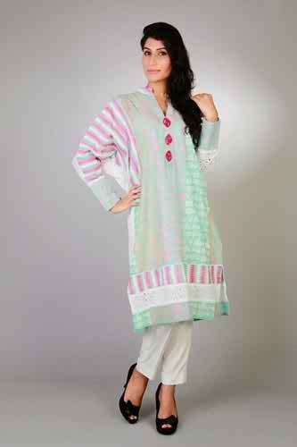Sanam Chudhary Eid Ul Azha Collection 2014 For Women 004