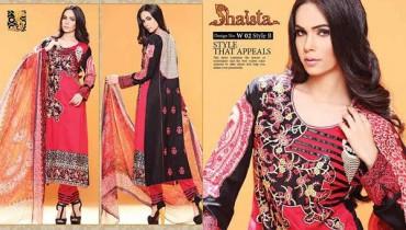 Shaista Cloth Eid Ul Azha Dresses 2014 For Women 001