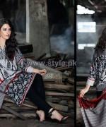 Shariq Textiles Khaddar Prints 2014 For Winter 1