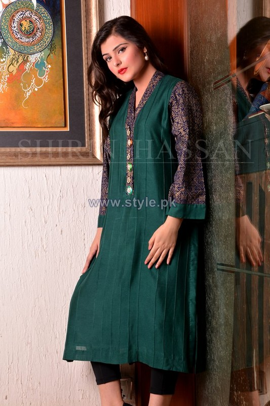 Shirin Hassan Eid Dresses 2014 For Women 8
