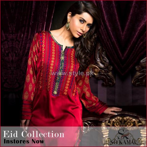 So Kamal Eid-Ul-Azha Dresses 2014 For Girls 6