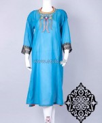 Stitched Stories Mid Summer Dresses 2014 For Girls 1