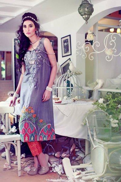 Tena Durrani Eid Ul Azha Collection 2014 For Women 007