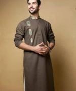 Trend Of Men Kurtas 2014 For Eid Ul Azha 2014 001