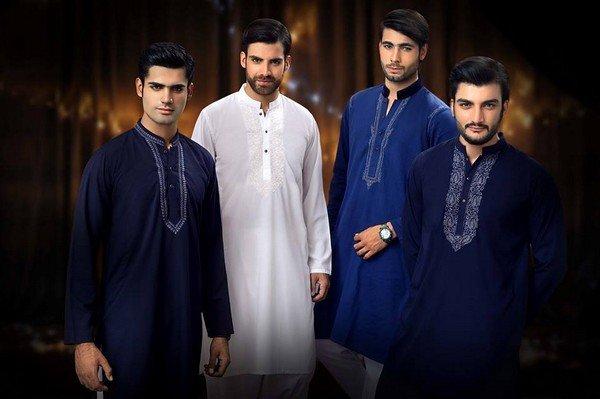 Trend Of Men Kurtas 2014 For Eid Ul Azha 2014 008