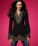 Trend Of Women Kurtas 2014 With Jeans 0010