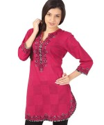 Trend Of Women Kurtas 2014 With Jeans 002