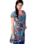 Trend Of Women Kurtas 2014 With Jeans 003