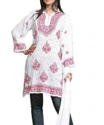 Trend Of Women Kurtas 2014 With Jeans 008
