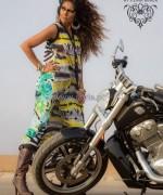 Umsha By Uzma Babar Silk Dresses 2014 For Girls 1