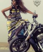 Umsha By Uzma Babar Silk Dresses 2014 For Girls 4