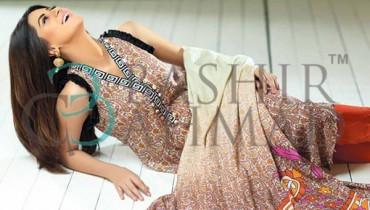 Bashir Ahmad Textiles Linen Dresses 2014 For Women 0015