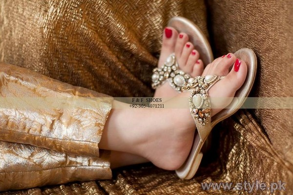 Farah and Fatima Footwear Collection 2014 For Women 4