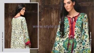 Firdous Fashion Paris Linen Dresses 2014-2015 For Winter 15