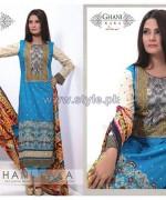Ghani Kaka Linen Dresses 2014-2015 For Winter 1