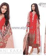Ghani Kaka Linen Dresses 2014-2015 For Winter 2