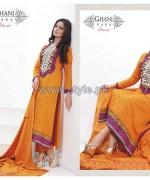 Ghani Kaka Linen Dresses 2014-2015 For Winter 3