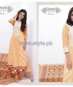 Ghani Kaka Linen Dresses 2014-2015 For Winter 7