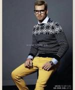 Gul Ahmed Ideas Winter Dresses 2014 For Men 1