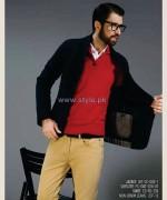 Gul Ahmed Ideas Winter Dresses 2014 For Men 8